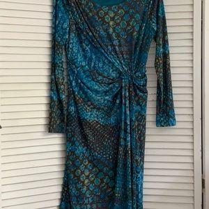 Calvin Klein long sleeve office dress. 10